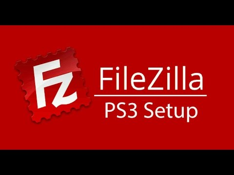how to connect filezilla to ps3
