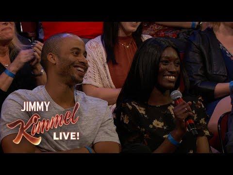 Behind the Scenes with Jimmy Kimmel and Audience (Nurse Met Boyfriend in Club)