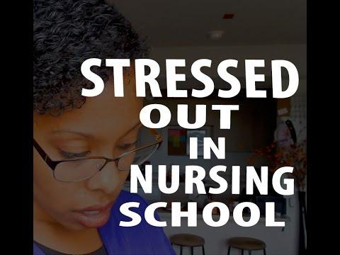 How to deal with STRESS in Nursing School | Week 4 Vlog