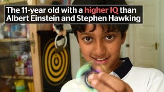 Meet the 11-year old with a higher IQ than Albert Einstein and Stephen Hawking