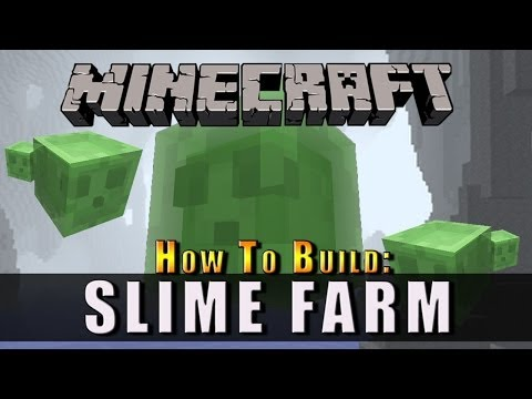 Minecraft :: How To Build :: Slime Farm :: Xbox, Playstation + PC