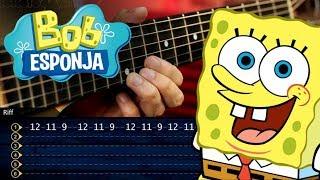Bob Esponja Guitarra Tutorial   SpongeBob Theme Guitar Tutorial   TABS Christianvib