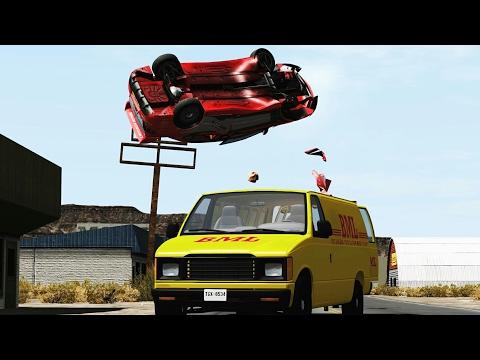 High Speed Insane Crashes #9 - BeamNG.Drive •ShowMik