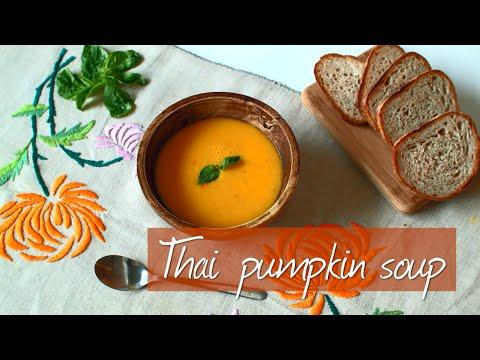 Thai pumpkin soup | Video recipe