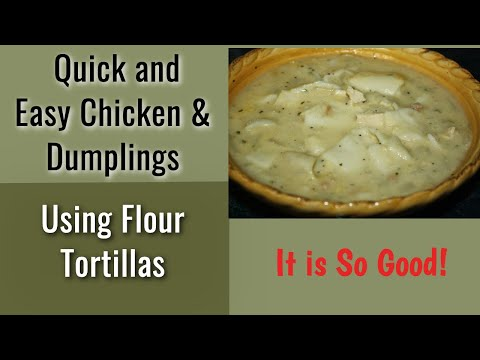 Recipe Chicken and Dumplings (quick and easy tip)