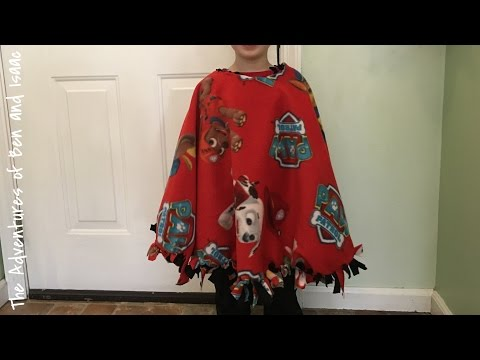 How To Make a No Sew Car Seat Poncho