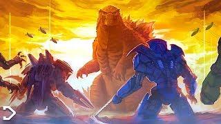 Godzilla VS Jaegers SIZE COMPARISON - Pacific Rim 2: Uprising