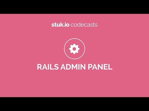 Codeplace | Build a Ruby on Rails Admin Panel using rails_admin gem