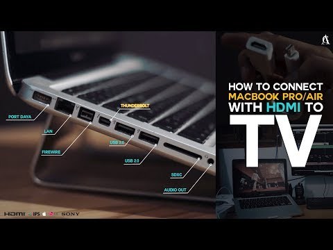 How to Connect Macbook Pro/Air with HDMI to TV  – Vlog Vol.2 #MACTOTV [4K]