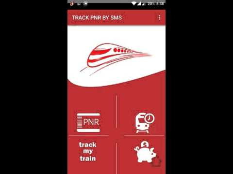 Track my PNR by SMS - Android App