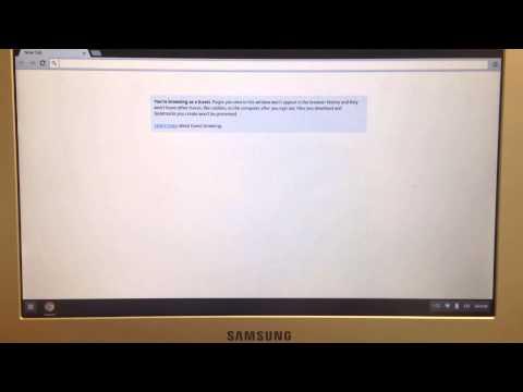 Find a Mac Address on a Chromebook