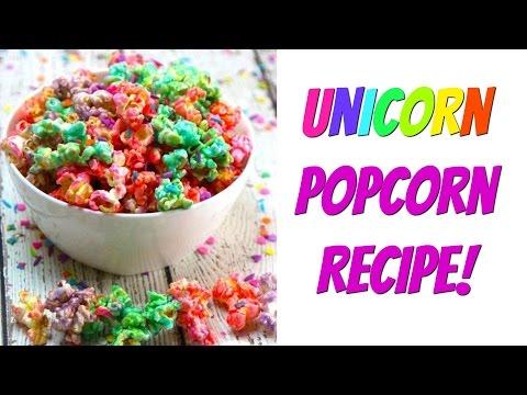 Unicorn Popcorn Recipe | Nerdy Treats Ep. 11