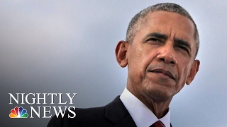 President Obama Saying Goodbye With Farewell Address To Nation From Chicago   NBC Nightly News