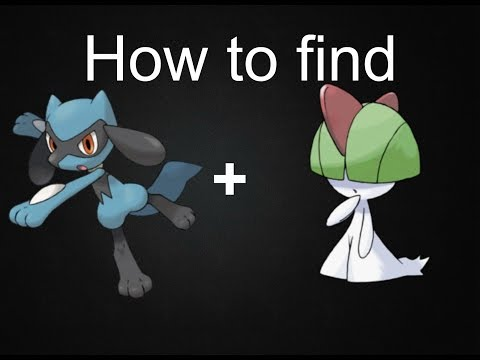 How to find Riolu and Ralts | Pokemon Brick Bronze
