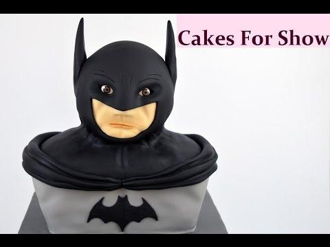 Making a Batman Cake