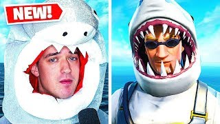 this dude thinks he is the shark from fortnite lol
