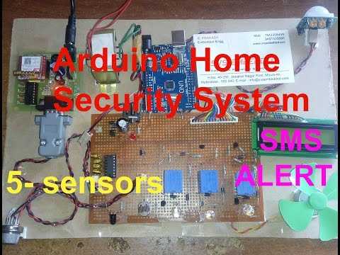 IOT PROJECTS: Arduino Home Security System