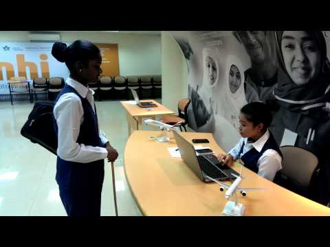 Airport passenger service agent role play 2