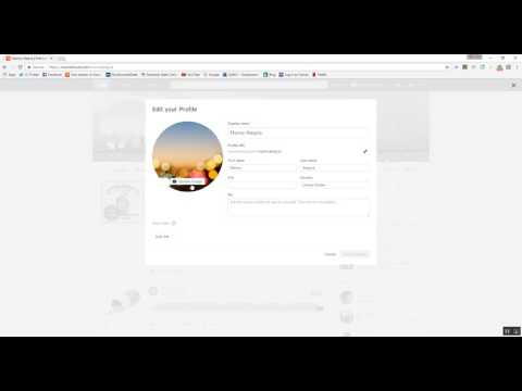 How to change soundcloud profile and cover photo