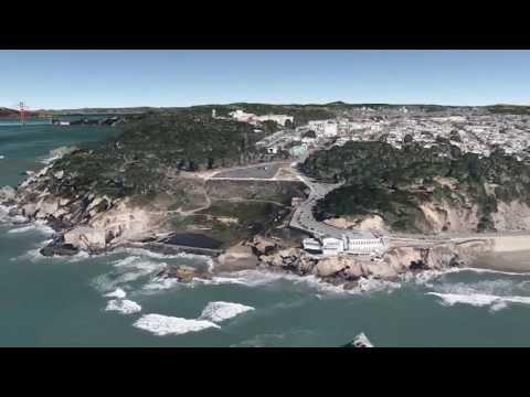 San Francisco Tour on Google Earth