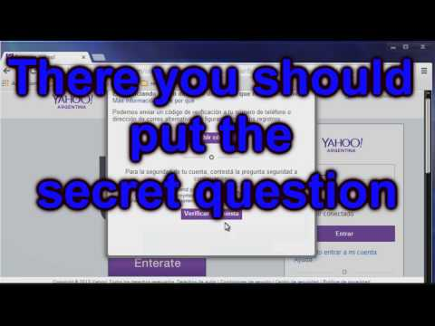How to unlock yahoo id to enter FastLife By Eris