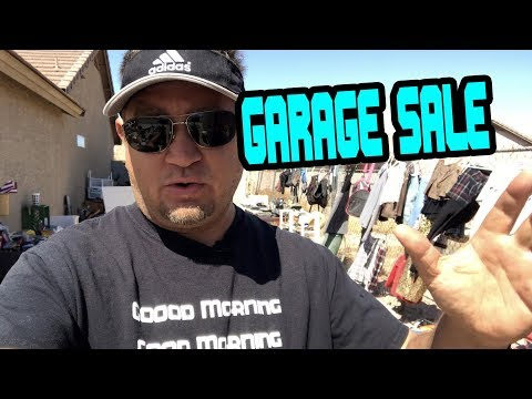 GARAGE SALE SELLING, LOCAL FLIPS & IMPROVEMENTS