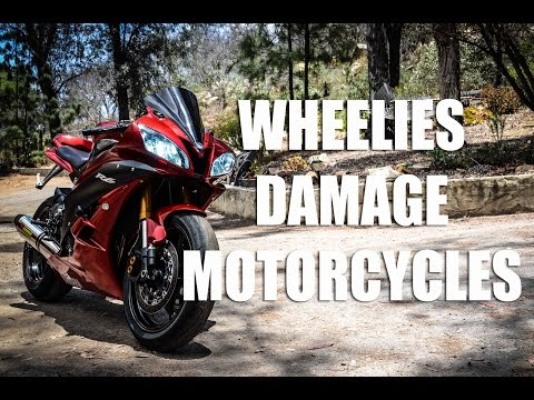 How Wheelies Damage Your Motorcycle