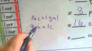 Grade 4 Math 112 Units Of Liquid Volume Customary Standard