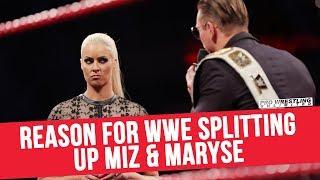 Reason for WWE Splitting Up Miz & Maryse