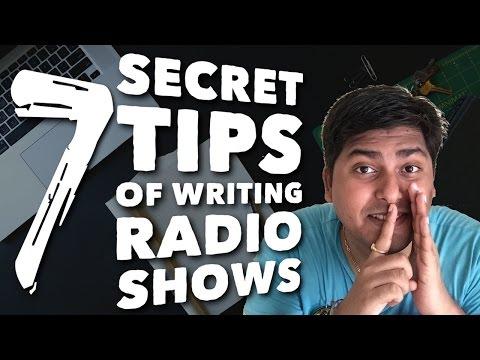 Radio jockey training hindi - 7 tips on how to write radio script - Session 9