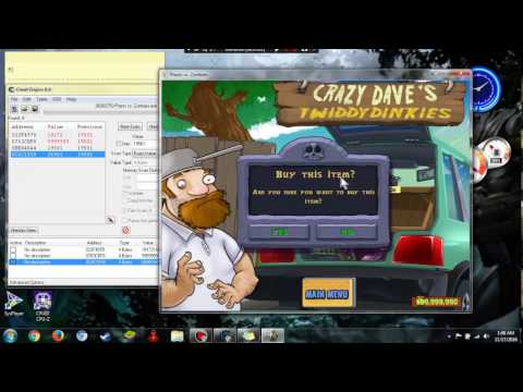 plants vs zombies hack coins (100% work) use cheat Engine 6.4