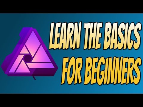 Affinity Photo Tutorial For Beginners   Learn The Basics Part 1 (Adding Text, Shapes & Effects)