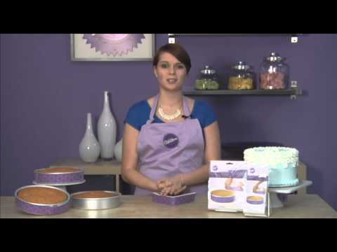 Bake a Perfect Cake Everytime with Bake Even Strips from Wilton