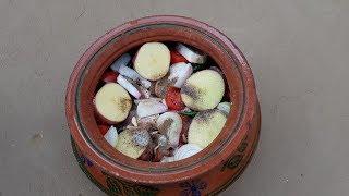 Dum Pukht Recipe by Mubashir Saddique   Village Food Secrets