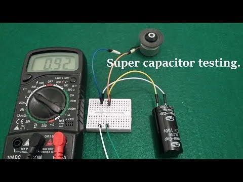 Super Capacitor Experiment