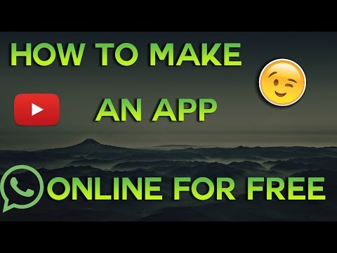 How to make an Android App online for free!