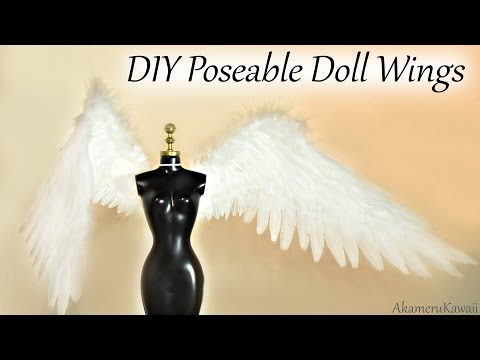 DIY Angel Doll Wings - Doll Craft Tutorial