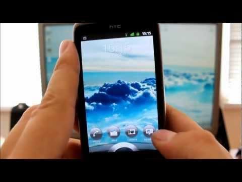 Lockscreen 3.0 with icons on HTC Desire (Reflex S v2.0.9)