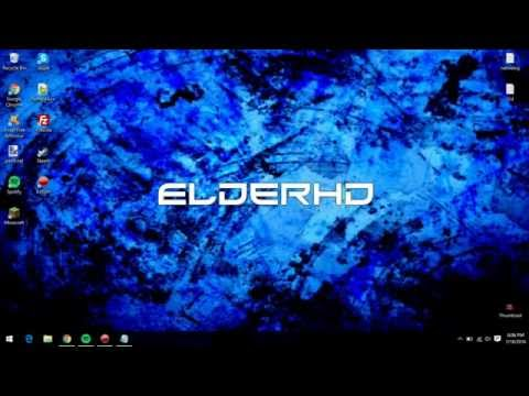 How to make a Windows Wallpaper Clear and Not Blurry [Tutorial] [ElderHD]