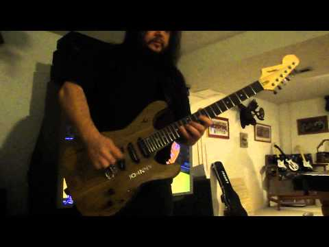 Rushmore guitars - My personal Strat Styled custom semi hollow guitar - 25 frets