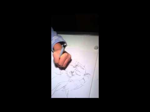 Fantasista Doll Drawing