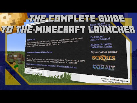 Minecraft Launcher Tutorial - The Complete Guide