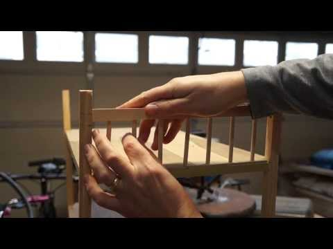 How To Build an American Girl Doll Bunk Bed