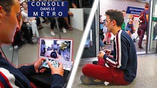 J'AI JOUÉ À LA CONSOLE DANS LE METRO (feat. FastGoodCuisine)