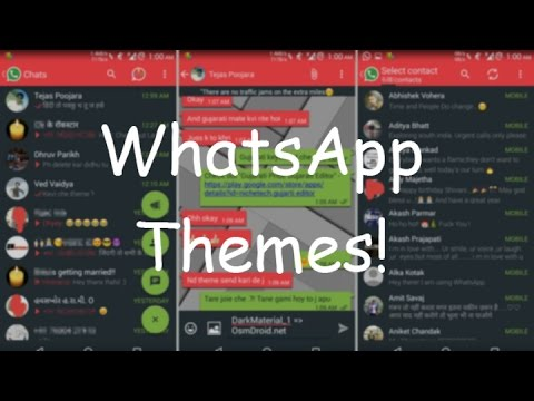 How to Add/Change Themes in WhatsApp! [2016]