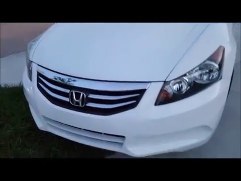 Honda Accord 2012 Cabin Air Filter Replacement