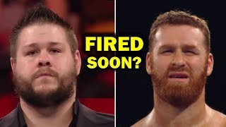 5 Reasons Why Kevin Owens and Sami Zayn Could Get Fired Soon