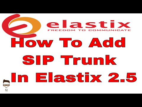 How To Add SIP Trunk In Elastix Free PBX 2.5 For Make Call Outside | Elastix 2.5 PBX Tutorial Part 4