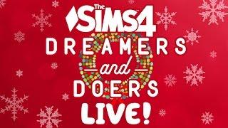 Christmas Decorating! - Sims 4 LIVE!