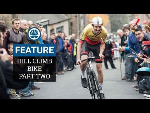 Racing a 5.1kg Bespoke Hill Climb Bike